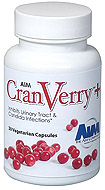 CranVerry Plus pure cranberry capslues